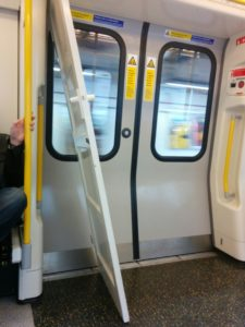 Door on the tube